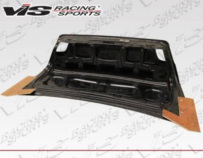 VIS Racing - Carbon Fiber Trunk OEM (Euro) Style for BMW 3 SERIES(E46) 2DR 99-05 - Image 3
