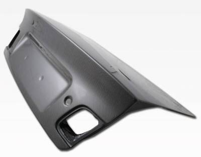 VIS Racing - Carbon Fiber Trunk OEM (Euro) Style for BMW 3 SERIES(E46) 4DR 99-05 - Image 1