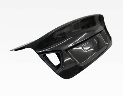 VIS Racing - Carbon Fiber Trunk CSL  Style for BMW 3 SERIES(E90) 4DR 06-08 - Image 2