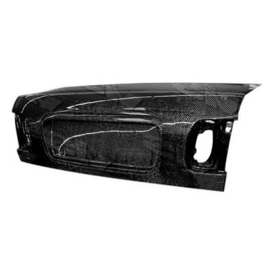 VIS Racing - Carbon Fiber Trunk OEM Style for Honda Civic 4DR 96-98 - Image 2