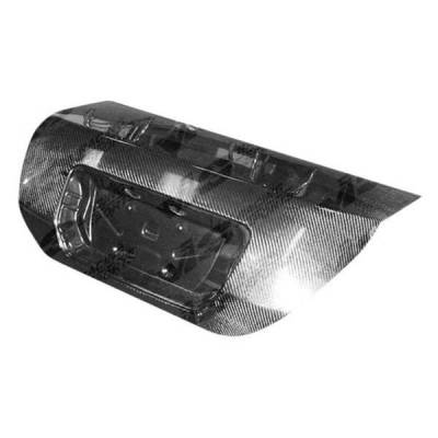 VIS Racing - Carbon Fiber Trunk OEM Style for Honda Civic 2DR 06-11 - Image 2