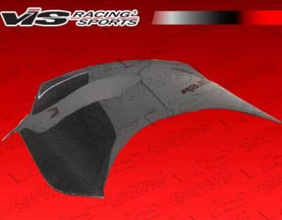 VIS Racing - Carbon Fiber Trunk Demon Style for Hyundai Genesis 2DR 10-15 - Image 4