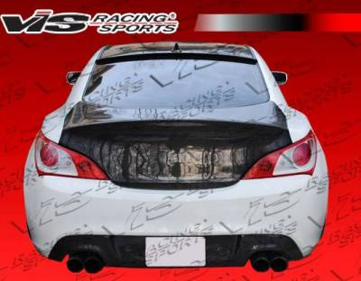 VIS Racing - Carbon Fiber Trunk K2 Style for Hyundai Genesis 2DR 10-15 - Image 4