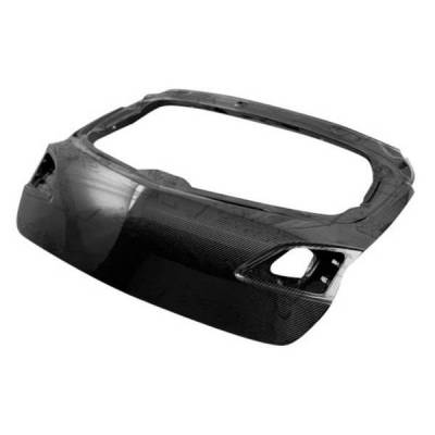 VIS Racing - Carbon Fiber Trunk OEM Style for Mazda 3 Hatchback 10-13 - Image 2