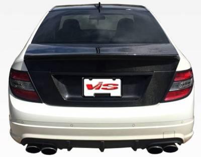 VIS Racing - Carbon Fiber Trunk Demon Style for Mercedes C-Class 4DR 08-12 - Image 5