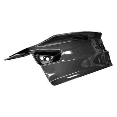 VIS Racing - Carbon Fiber Trunk Demon Style for Mitsubishi EVO 10 4DR 08-15 - Image 2
