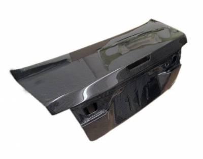 VIS Racing - Carbon Fiber Trunk OEM Style for Nissan Sentra 4DR 95-99 - Image 2