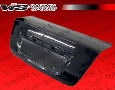 VIS Racing - Carbon Fiber Trunk OEM Style for Nissan Sentra 4DR 07-12 - Image 1