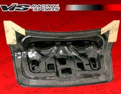 VIS Racing - Carbon Fiber Trunk OEM Style for Nissan Sentra 4DR 07-12 - Image 3