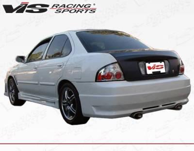 VIS Racing - Carbon Fiber Trunk OEM Style for Nissan Sentra 4DR 00-06 - Image 4