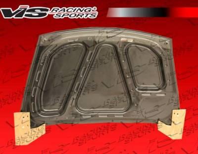 VIS Racing - Carbon Fiber Trunk OEM Style for Porsche Boxster 2DR 97-04 - Image 3
