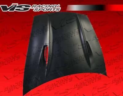 VIS Racing - Carbon Fiber F/G Hood A Tech Style for Porsche Cayenne 4DR 02-10 - Image 1