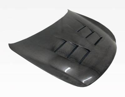 VIS Racing - Carbon Fiber Hood Terminator Style for Infiniti Q60 2DR 14-15 - Image 1