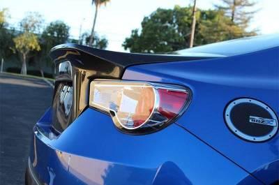 VIS Racing - Carbon Fiber Trunk Demon Style for Subaru BRZ 2DR 13-17 - Image 2