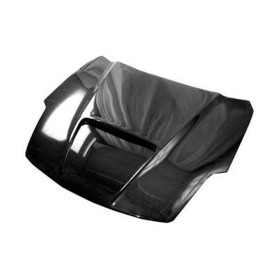 VIS Racing - Carbon Fiber Hood Viper Style for Nissan 350Z 2DR 03-06 - Image 1