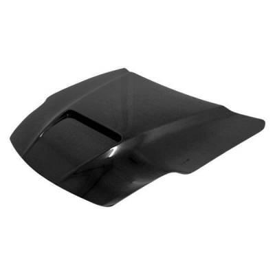 VIS Racing - Carbon Fiber Hood Viper Style for Nissan 350Z 2DR 03-06 - Image 2