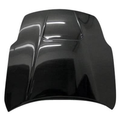 VIS Racing - Carbon Fiber Hood Viper Style for Nissan 350Z 2DR 03-06 - Image 4