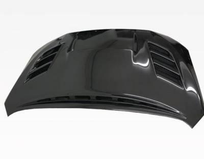 VIS Racing - Carbon Fiber Hood VS 2 Style for Subaru WRX 4DR 2015-2020 - Image 1