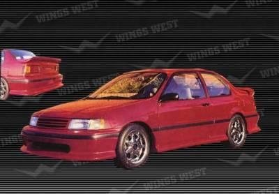 Wings West - 1992-1993 Toyota Tercel 2 Door 4Pc Complete Kit Fiberglass - Image 1
