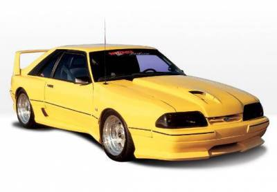 Wings West - 1987-1993 Ford Mustang Lx Dominator™ 14Pc Complete Kit Less Wing And Hood - Image 2