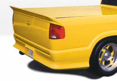 Wings West - 1994-1997 Chevrolet S 10 Extended Cab Custom Style Full Kit W/Roll Pan - Image 3