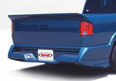 Wings West - 1994-1997 Chevrolet S 10 Standard Cab Custom Style Full Kit W/Oe Bumper - Image 2