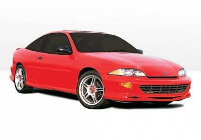 Wings West - 1995-1999 Chevrolet Cavalier 2Dr. Custom Style Complete Kit - Image 2