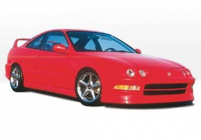 Wings West - 1994-1997 Acura Integra 2Dr. Racing Series 4pc Full Kit - Image 2