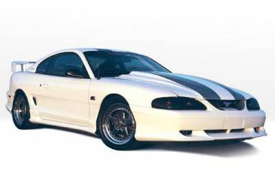 Wings West - 1994-1998 Ford Mustang All Models Custom Style 4Pc Complete Kit - Image 2