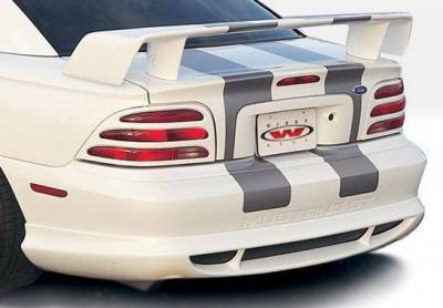 Wings West - 1994-1998 Ford Mustang All Models Custom Style 4Pc Complete Kit - Image 3