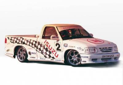 Wings West - 1994-1997 Isuzu Hombre Standard Cab Custom Style 7Pc Complete Kit - Image 2