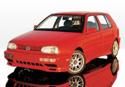 Wings West - 1993-1998 Volkswagen Golf Custom Style 4Pc Complete Kit - Image 2
