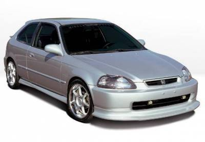 Wings West - 1996-1998 Honda Civic Hb Touring Style 4Pc Complete Kit - Image 2