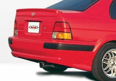 Wings West - 1998-1999 Toyota Tercel 2 Door M-Typ 5Pc Complete Kit With Lip Spoiler - Image 3