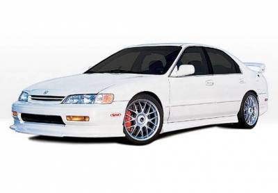 Wings West - 1994-1995 Honda Accord 2Dr Touring Style 4Pc Complete Kit 4 Cylinder Only - Image 2