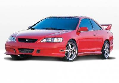 Wings West - 1998-2000 Honda Accord 2Dr W-Typ 4Pc Complete Kit - Image 2