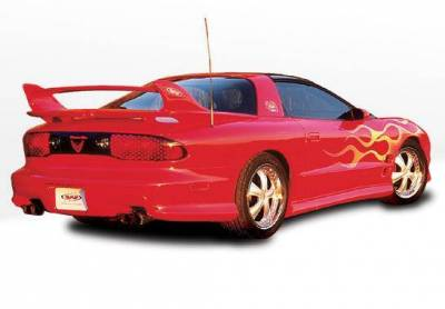 Wings West - 1998-2002 Pontiac Firebird W-Typ 5Pc Complete Kit - Image 3