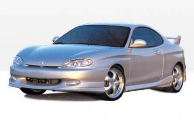 Wings West - 1997-1999 Hyundai Tiburon W-Typ 4Pc Complete Kit - Image 2