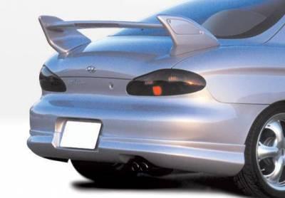 Wings West - 1997-1999 Hyundai Tiburon W-Typ 4Pc Complete Kit - Image 3