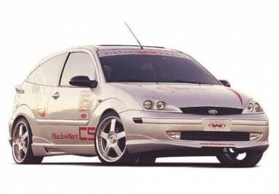 Wings West - 2000-2004 Ford Focus Zx3 W-Typ 4Pc Complete Kit - Image 2