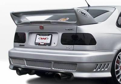 Wings West - 1996-1998 Honda Civic 2Dr Avenger 4Pc Complete Kit - Image 3