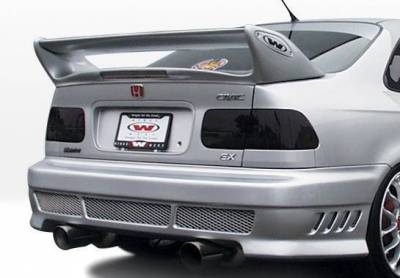 Wings West - 1999-2000 Honda Civic 2Dr Avenger 4Pc Complete Kit - Image 3