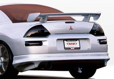 Wings West - 2000-2002 Mitsubishi Eclipse 2Dr W-Typ 4Pc Complete Kit - Image 3