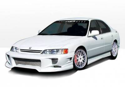 Wings West - 1996-1997 Honda Accord 4Dr Aggressor Typ 2 4Pc Complete Kit 4 Cylinder Only - Image 2