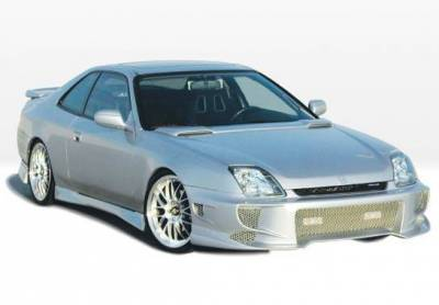 Wings West - 1997-2001 Honda Prelude Aggressor Typ 2 4Pc Complete Kit - Image 2