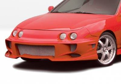 Wings West - 1994-1997 Acura Integra 2/4Dr Aggressor Typ 2 Front Bumper Cover - Image 2