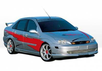 Wings West - 2000-2004 Ford Focus 4Dr W-Typ 4Pc Complete Kit - Image 2