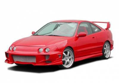 Wings West - 1994-1997 Acura Integra 4Dr Aggressor 2 4Pc Complete Kit - Image 2