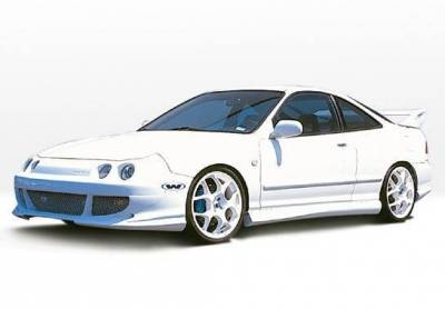 Wings West - 1994-1997 Acura Integra 2Dr Bigmouth 4Pc Complete Kit - Image 2