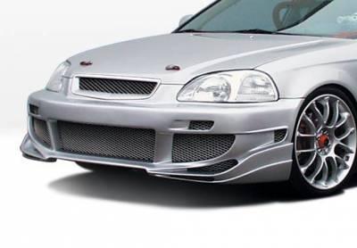 Wings West - 1999-2000 Honda Civic 4Dr Avenger 4Pc Complete Kit - Image 2